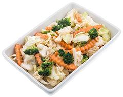Foto Pad pack ruam (gebakken groente)